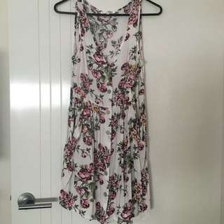 Button up dress size XS
