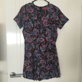 BooHoo Size 10/S Playsuit