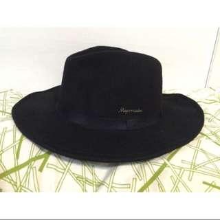 650🌼Major Made 紳士帽-黑