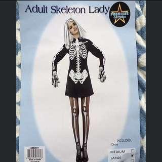 Skelton Women's Costume
