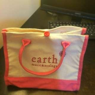 全新 日牌Earth 小袋子🐻✨