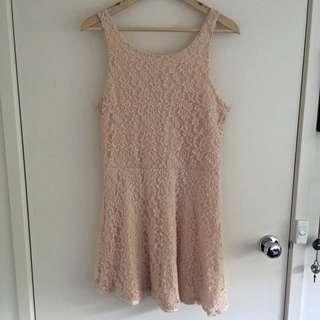 Miss Shop Lace Mini Dress Size 16