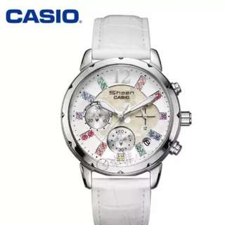(PO) Authentic Casio Sheen Ladies Dress Watch