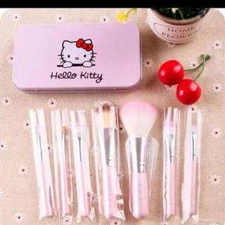 Hello Kitty化妝刷組合