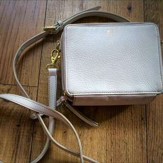 SALE Fossil Shoulder Purse (Cream)