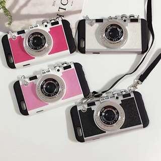i phone 專屬復古相機造型手機殼