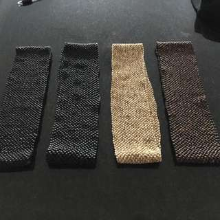 Elastized Wooden Belts X 4