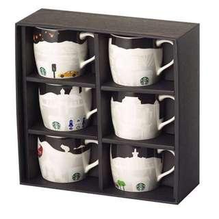 星巴克 Starbucks 典藏 浮雕馬克杯禮盒 3oz