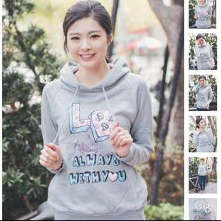 Lazybone 帽T Hoodie Always With You