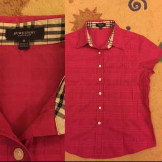 Authentic Burberry Blouse