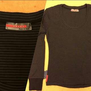 BNWOT Authentic Prada Long Sleeve