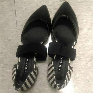 Dobe 黑尖頭平底鞋25