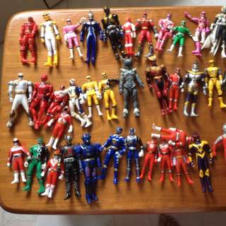 RESERVED Masked Rider And Power Ranger Figures.