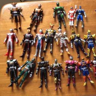 RESERVED Masked Rider And Power Rangers