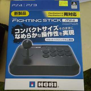 Hori Mini Fightstick For PS3 And PS4 (New)