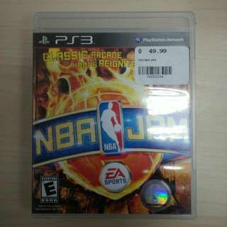 (reserved) PS3 Game NBA JAM
