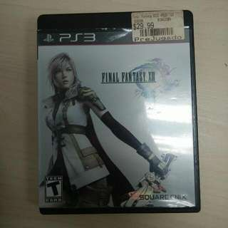(Reserved)PS3 Game Final Fantasy XIII