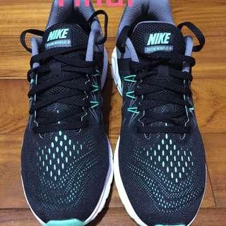 全新 Nike zoom winflo2 黑綠色