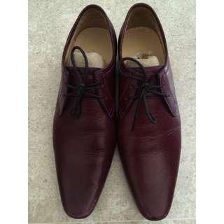 Men's Handmade Cow Leather Dress Shoes (Size Men's EU 37)