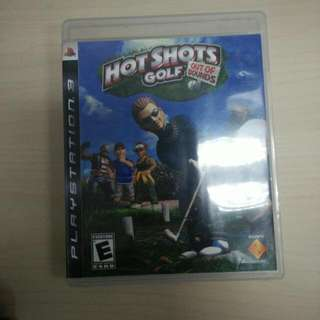 (reserved) PS3 Game Hot shots golf