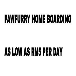 Pawfurry Home Boarding Based