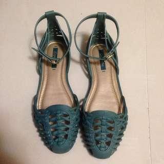巴西grendha 專櫃平底編織涼鞋