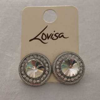 Lovisa silver earrings