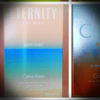 Calvin Klein   Eternity for men Summer  男性香水  降價又免運