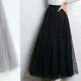 🌸全新-紗裙(黑色)