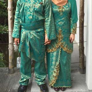 Wedding Songket Outfit