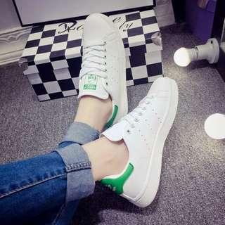 adidas stan smith 綠色  男女鞋