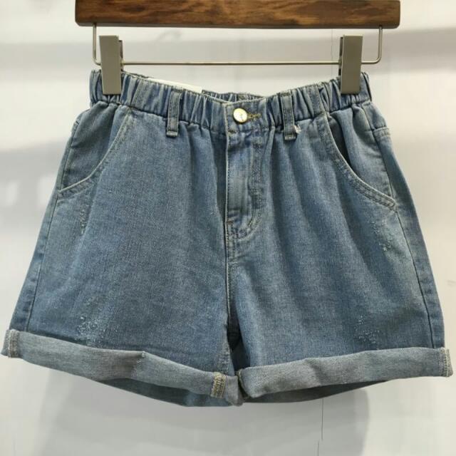 小精靈🌝反摺造型短褲