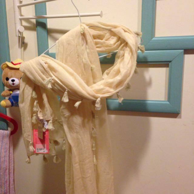 (降)日貨波希米亞棉麻披巾