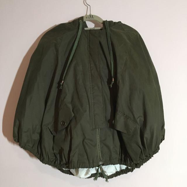二手)超暖斗篷外套