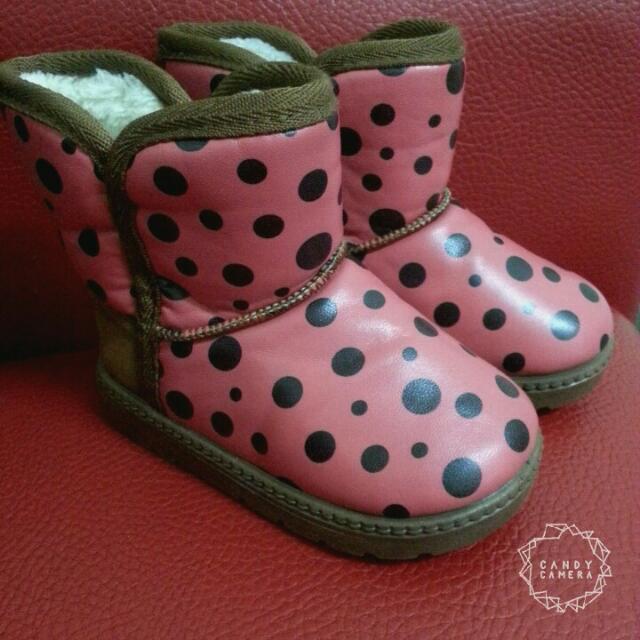 全新♡女童雪靴