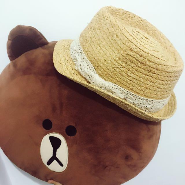 😊竹編草帽