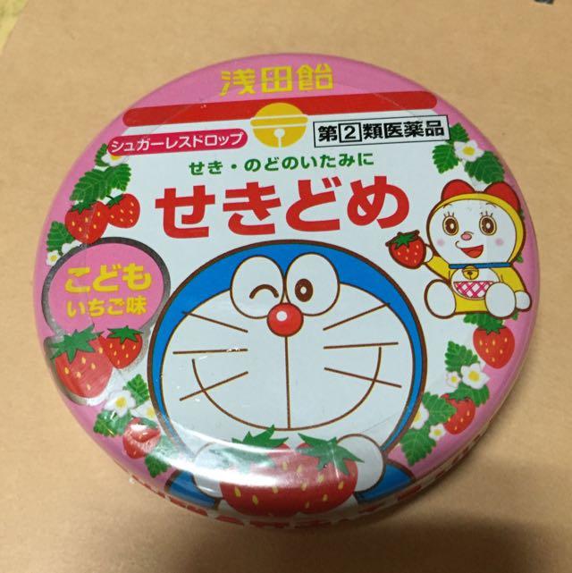 淺田飴 日本 大版帶回 哆啦a夢 限定版 現貨 涼喉錠 小朋友專用喉糖