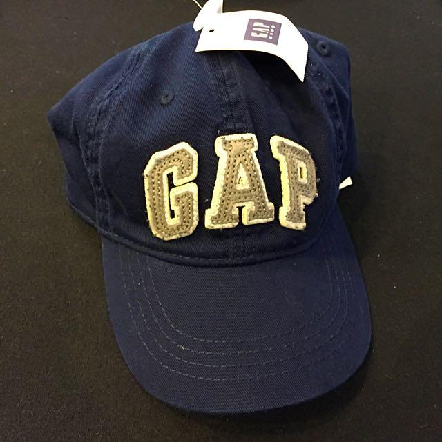 全新 GAP 老帽 深藍色 日本購回 台灣未發售 帽圍可調