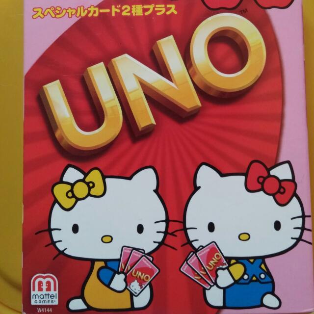限量 Hello Kitty ❤UNO 紙牌🙌