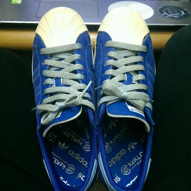 Adidas Clot 藍呼吸