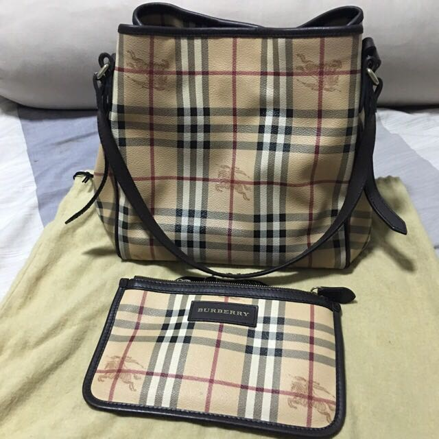 9e800519f578 Authentic Burberry Hypermarket Bag Medium