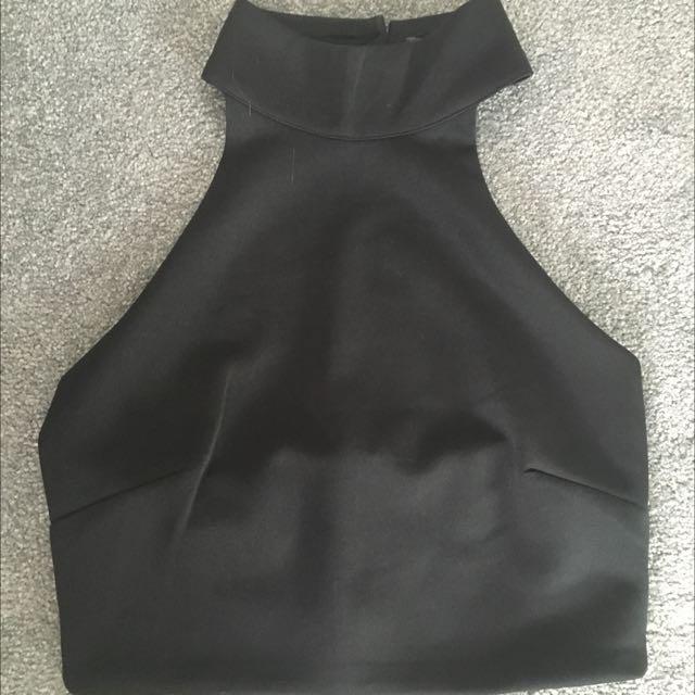 Black top Size 10