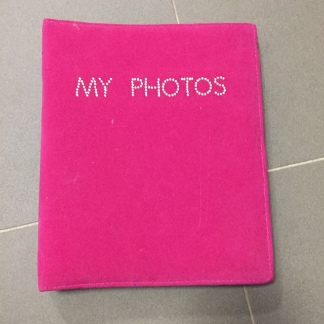 BNWT pink Diamanté Photo Book