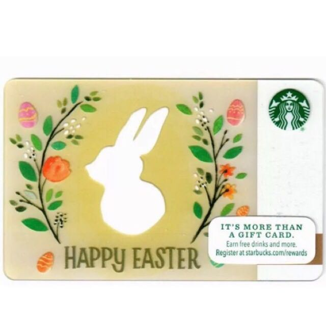 Starbucks easter day collectible gift card from usa 2016 everything photo photo photo photo negle Gallery