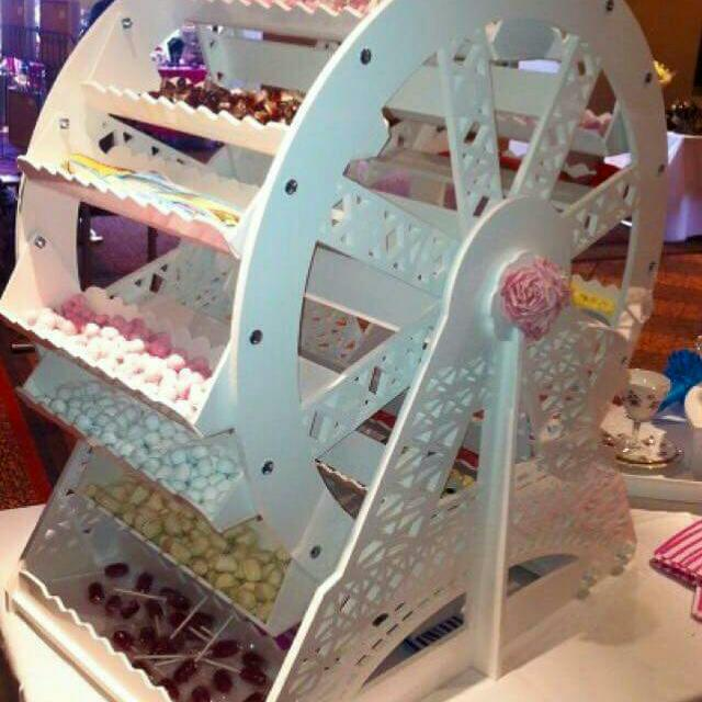 Ferris Wheel Candy Buffet Hire!!!