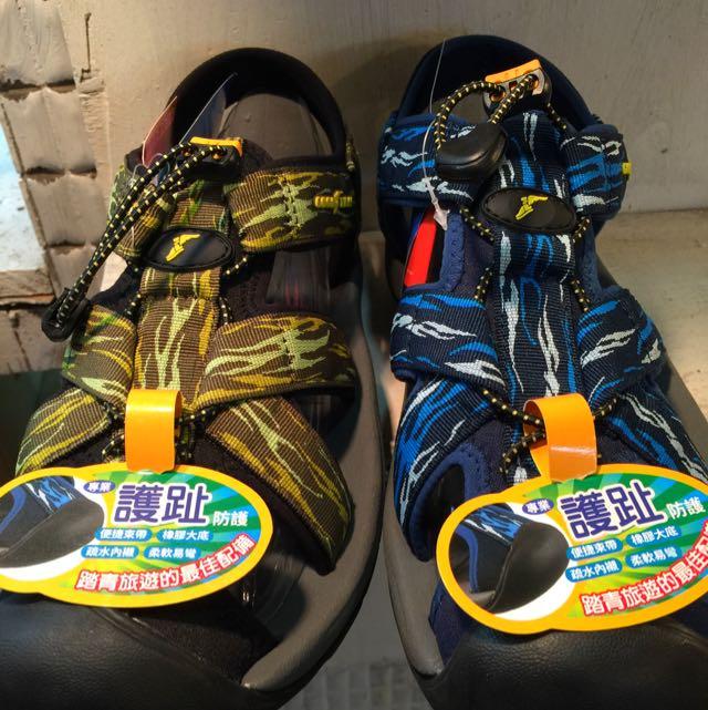 🇺🇸美國品牌GOODYEAR🇺🇸護趾氣墊運動涼鞋(免運費)