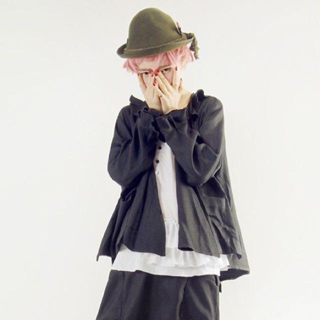 Imakokoni荷葉領袖外套