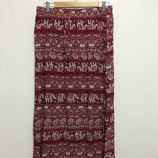 Indian Style Skirt With Optional Ruching - Size 12