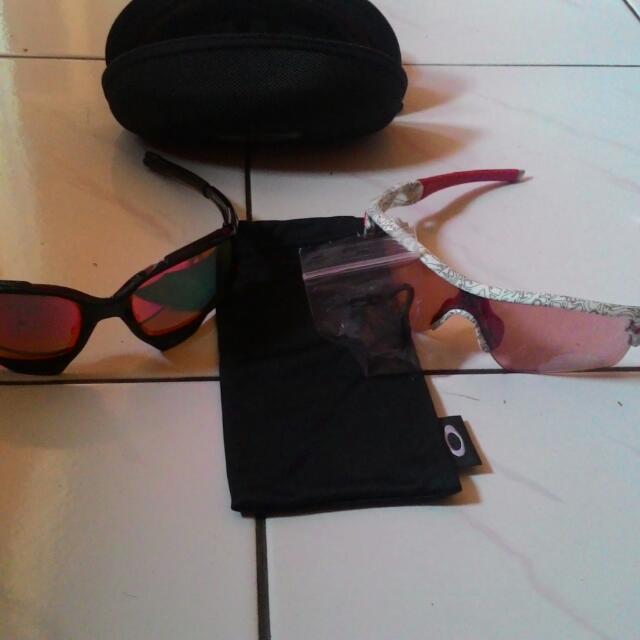 Kacamata Sporty Merk Oakley (Original) 8e7ba3a11e