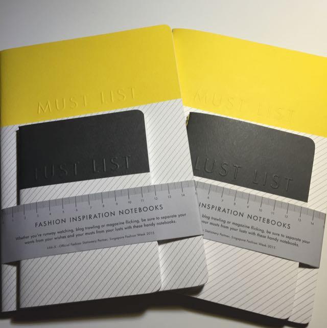 KIKKI.K Fashion Inspiration Notebooks 2 SETS
